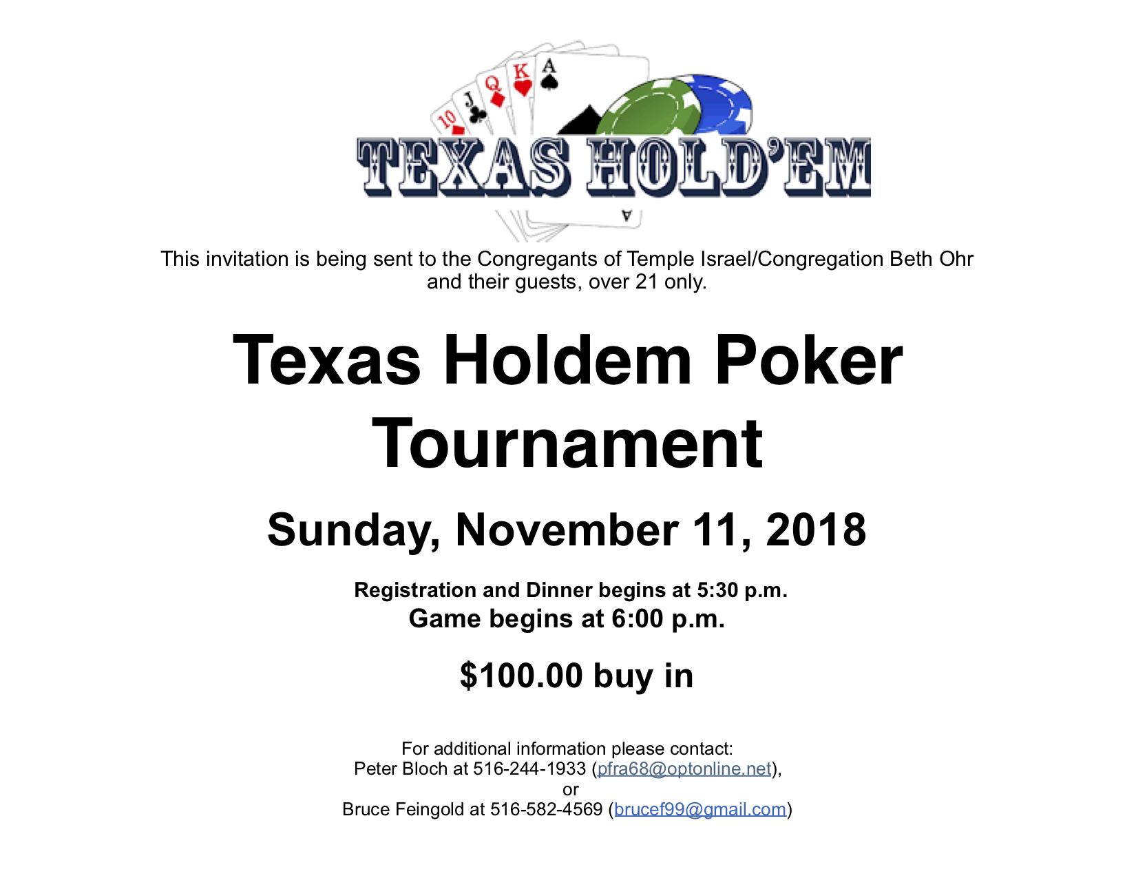 Texas Hold'em @TISM