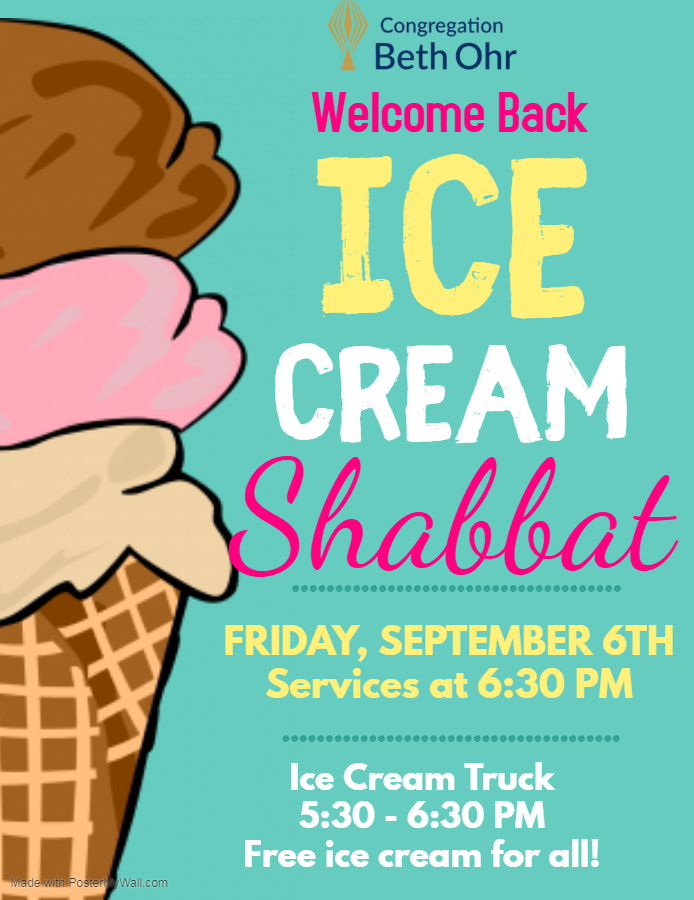 Ice Cream Shabbat