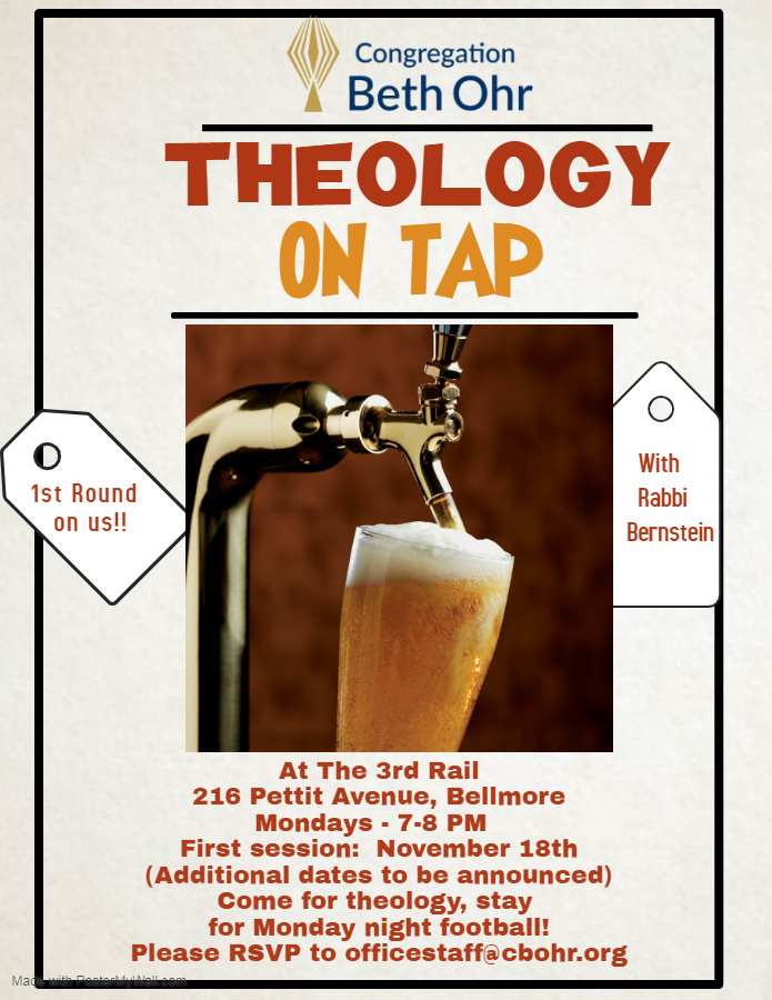 theology on Tap at 3rd Rail