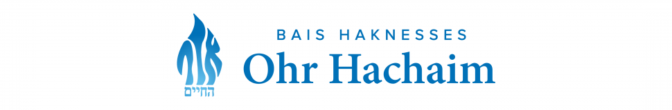 Logo for Bais Haknesses Ohr Hachaim
