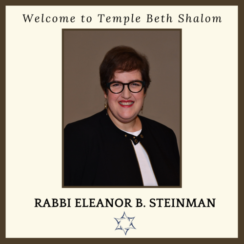 Banner Image for Special Congregational Meeting - Confirming Rabbi Eleanor Steinman as Associate Rabbi