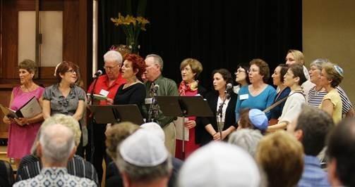 Kol Hakavod Choir at Temple Beth Shalom