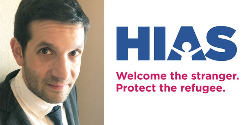 Banner Image for HIAS Presentation: Welcome the Stranger. Protect the Refugee.