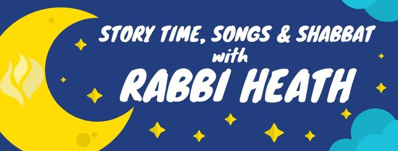 Banner Image for Story Time, Songs and Shabbat (with Rabbi Heath)