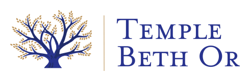 Logo for Temple Beth Or