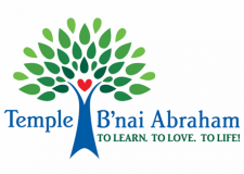 Logo for Temple B'nai Abraham