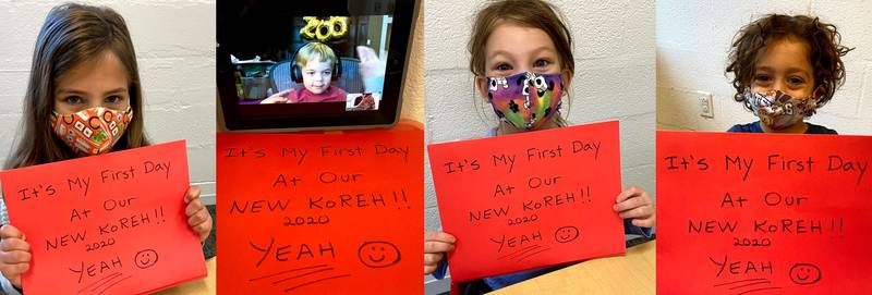 Koreh Students excited to be back in 2020