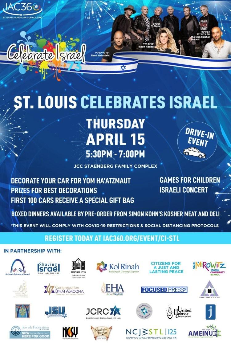Banner Image for St. Louis Celebrates Israel
