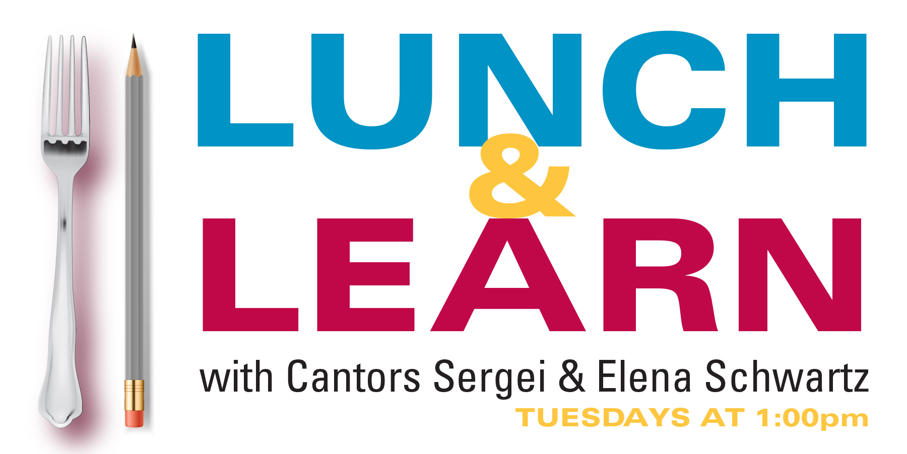 Banner Image for Lunch & Learn with Cantors Sergei & Elena Schwartz
