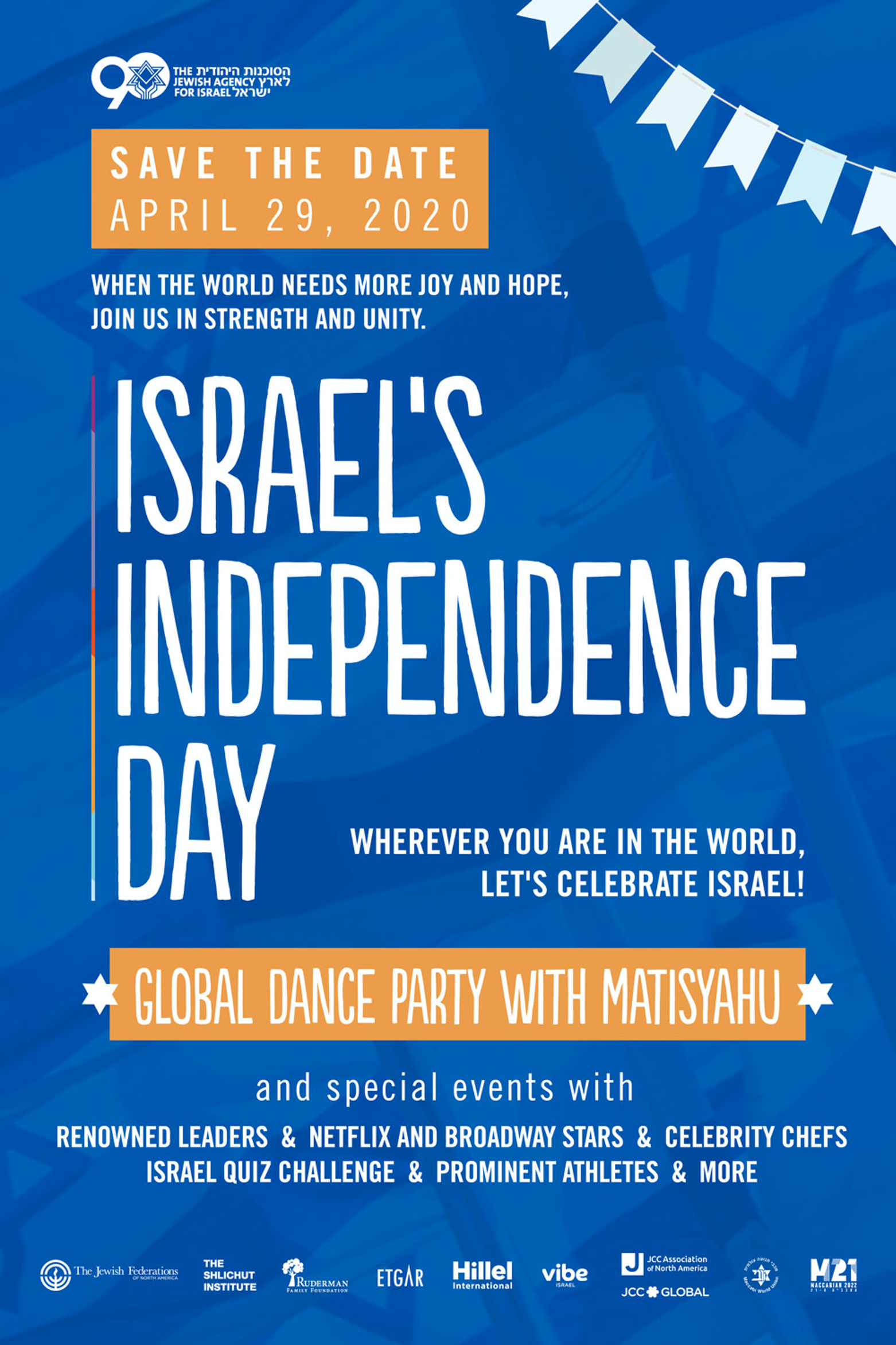 Banner Image for Israel Independence Day Global Party