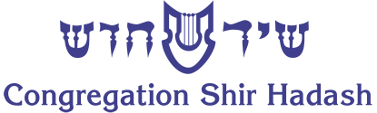 Logo for Congregation Shir Hadash