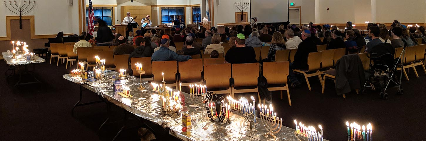 Banner Image for VIA ZOOM: Hanukkah Family Shabbat Service