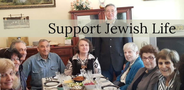 """</a>                                                                                                                                                                                       <span class=""""slider_description"""">Your gift of just $50 provides Shabbat dinner for up to 12 people in the FSU.</span>"""