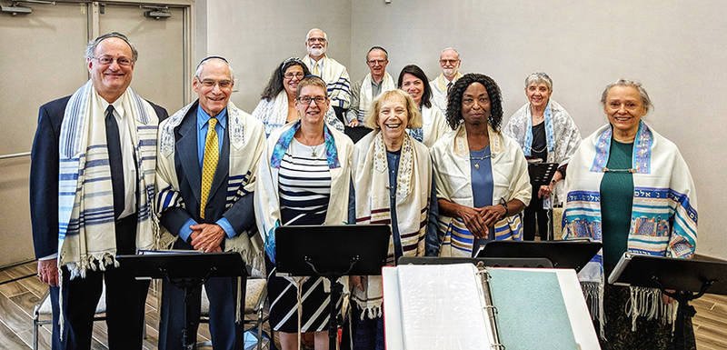 Temple Israel choir