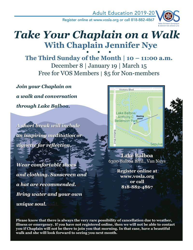 Banner Image for Take Your Chaplain on a Walk