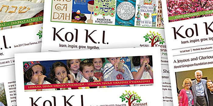 Download past issues of KOL K.I. here.