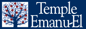 Logo for Temple Emanu-El (San Jose)