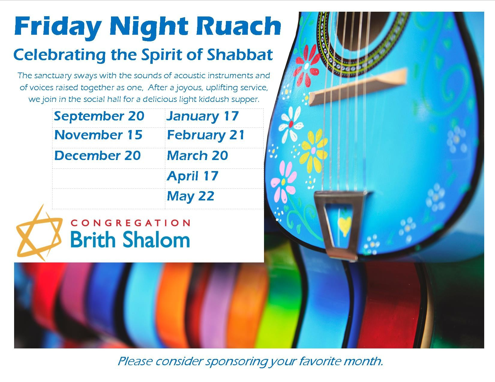 Banner Image for Friday Night Ruach