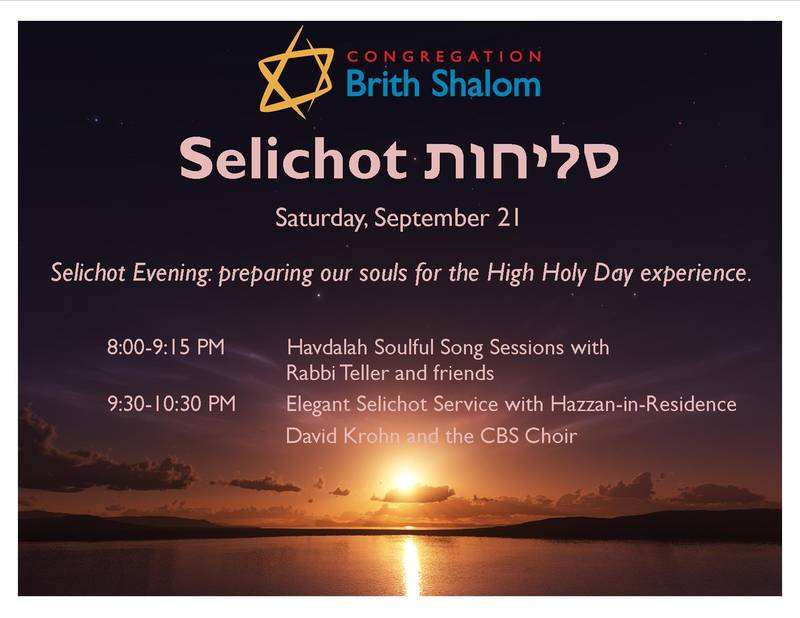 Banner Image for Havdalah Song Session & Selichot