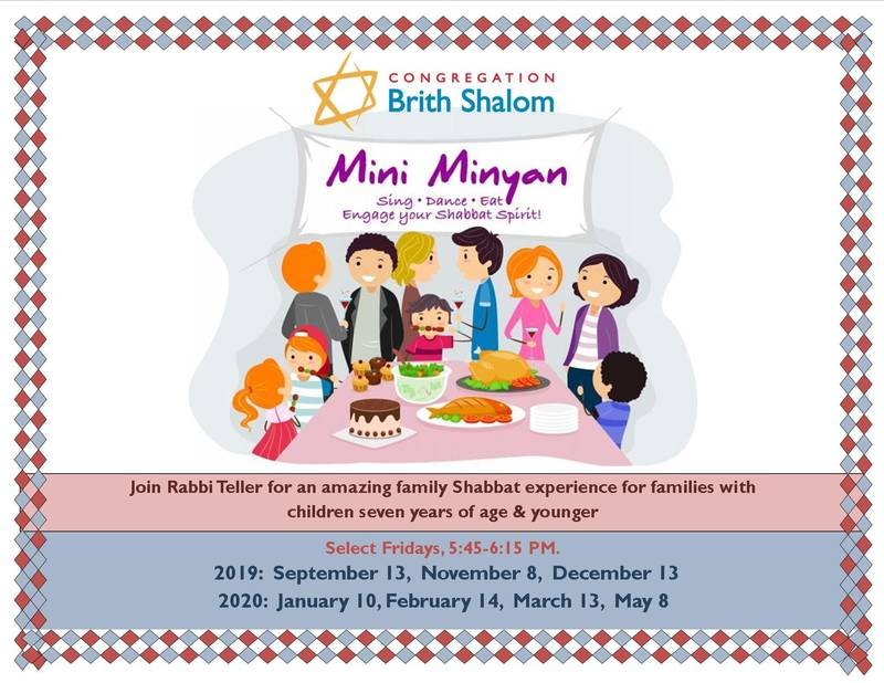 Banner Image for Mini Minyan