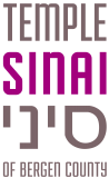 Logo for Temple Sinai of Bergen County