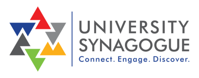 Logo for University Synagogue