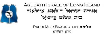 Logo for Agudath Israel of Long Island