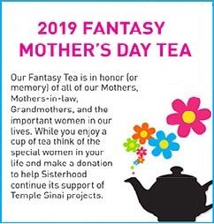 Sisterhood Fantasy Mother's Day Tea