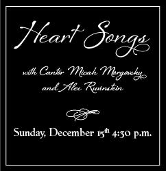 Cantor's Concert - Heart Songs