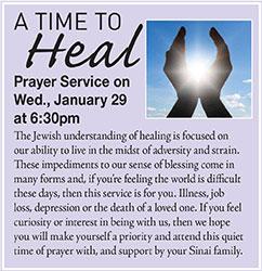 Healing Service