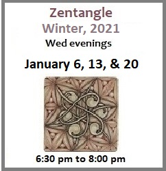 Zentangle with Cantor Micah