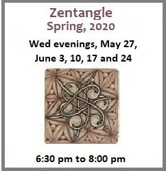 Zentangle via Zoom