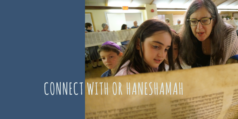 Connect with Or Haneshamah