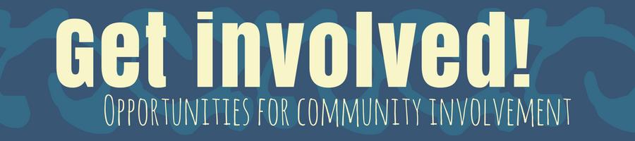get involved! banner
