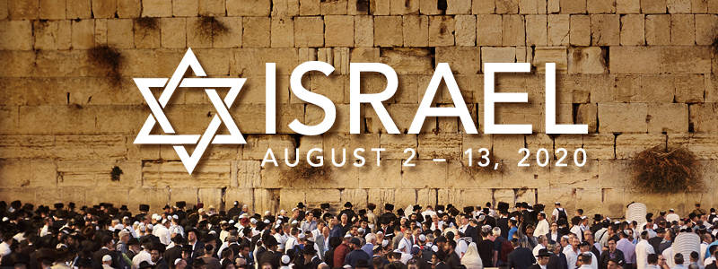 Congregation Kol Ami is going to Israel, August 2-13, 2020