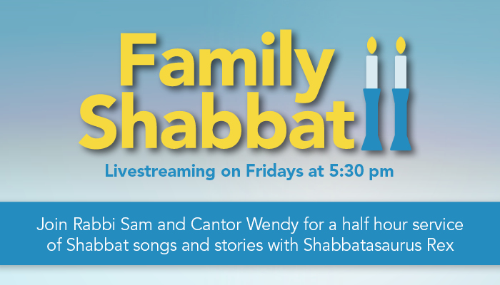 """<a href=""""https://venue.streamspot.com/108d92ef""""                                     target=""""_blank"""">                                                                 <span class=""""slider_title"""">                                     Click here to livestream our Family Shabbat service                                </span>                                                                 </a>"""