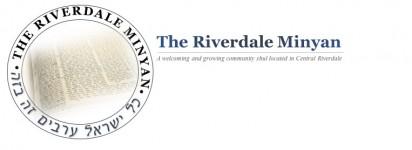 Logo for The Riverdale Minyan