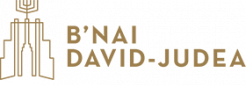 Logo for B'nai David-Judea Congregation