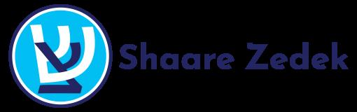 Logo for Shaare Zedek Congregation