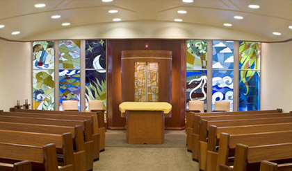 """<span class=""""slider_title"""">                                     The Florence and Hy Herman Daily Chapel                                </span>                                                                                                                                                  <span class=""""slider_description"""">Daily services</span>"""