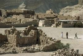 Photo: Ruins of the Masada fortress