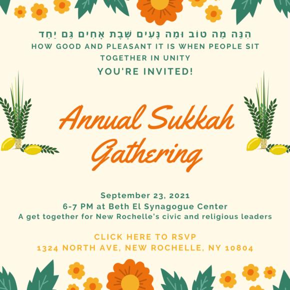 Annual Sukkah Gathering Invitation